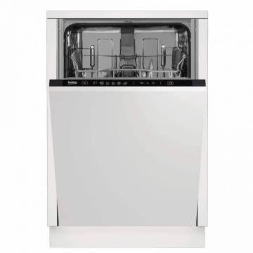 Masina de spalat vase incorporabila Beko DIS35020, 10 seturi, 5 programe,Quick&Shine™, Clean&Shine™, Incarcare la jumatate, 45 cm, Clasa A++