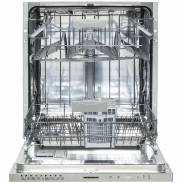 Masina de spalat vase incorporabila Heinner HDW-BI6092TE++, 12 seturi, 9 programe, Control electronic, Incarcare la jumatate, 60 cm, Clasa A++