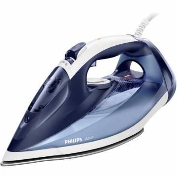 Fier de calcat Philips Azur GC4556/20, 2500 W, debit abur 50 g/min., jet abur 220g, functie Quick CalcRelease, talpa SteamGlide plus, Albastru