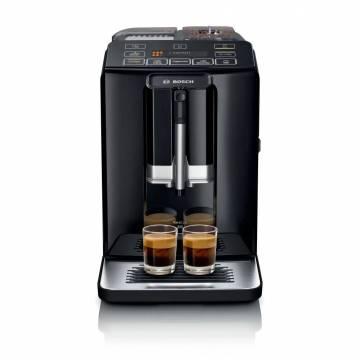 Espressor automat Bosch VeroCup 300 TIS30329RW, 1300 W, 1.4 L, 15 bar, Negru