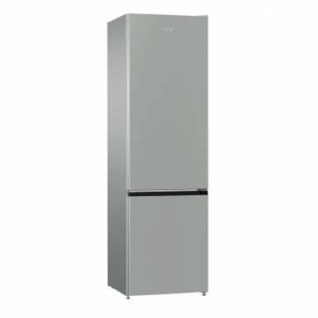 Combina frigorifica Gorenje RK621PS4, 353 L, FrostLess, Cutie fructe/legume, Comenzi mecanice, H 200 cm, Gri metalic