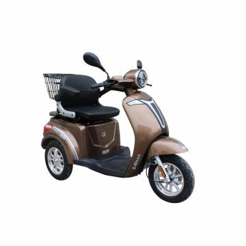Tricicleta electrica RDB C-klass2 FARA PERMIS , Maro, 800 W, frana fata disk
