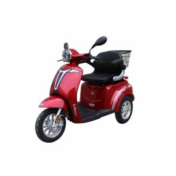 Tricicleta electrica RDB C-klass2 FARA PERMIS , Rosu, 800 W, frana fata disk