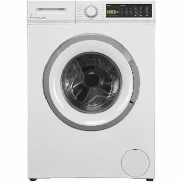 Masina de spalat rufe Fram FWM-V712T2D++, 7 kg, 1200 rpm, Clasa D, Display LED, Start intarziat, Anti-sifonare, Eco-Logic, Alb