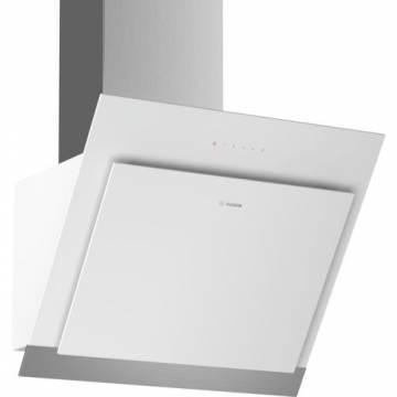 Hota incorporabila Bosch DWK67HM20, TouchControl, 3 trepte de putere, Putere de absorbtie 660 mc/h, 60 cm, Sticla alba
