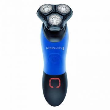 Aparat de ras Remington XR1450, Utilizare 60 minute, Rezistent la apa, Timp incarcare 90 minute, Trimmer ComfortTrim, Albastru/Negru