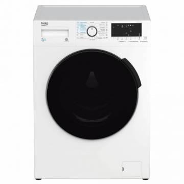 Masina de spalat rufe cu uscator BEKO HTE7613YBSTR,  HomeWhiz, conectare Bluetooth, Steam Cure, Motor ProSmart Inverter, 7/4 kg, 1200rpm, B, alb