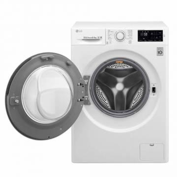 Masina de spalat rufe LG Titan C5 F0J5WN3W, 6.5 kg, 1000 RPM, Clasa A+++, Alb