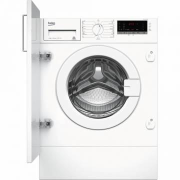 Masina de spalat rufe incorporabila Beko WITV8712X0W, 8 kg, 1400 RPM, Clasa A+++, Display LED, Alb