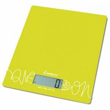 Cantar de bucatarie Momert 6855, 5kg, LCD, Galben