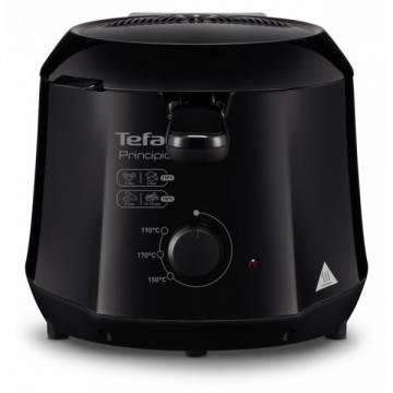 Friteuza Tefal Minicompact FF230831 Principio, 1000W, 0.6 Kg, 1.2L, termostat reglabil, Negru