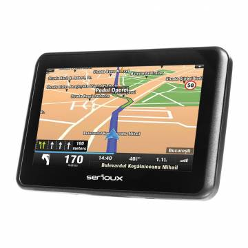 Sistem de navigatie Serioux Urban Pilot UPQ430, diagonala 4.3