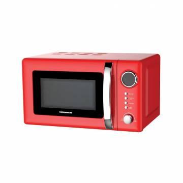 Cuptor cu microunde HEINNER HMW-20GRD, 20 l, 700 W, Digital, Grill, Rosu