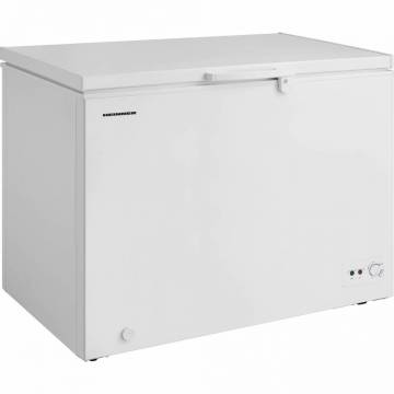 Lada frigorifica Heinner HCF-M295CA+, 290 l, Clasa A+, Sistem Convertibil Frigider/Congelator, Control mecanic, Iluminare LED, Alb