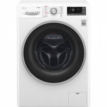Masina de spalat rufe LG F4J7TY1W, Wi-Fi, 8kg, 1400rpm, A+++, alb