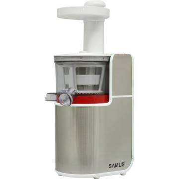 Storcator Samus cu melc SlowStar, 150 W, 800 ml, 2 viteze, Argintiu