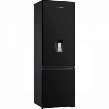 Combina frigorifica Heinner HC-H273BKWD+, 267 l, Clasa A+, Dispenser apa, Control mecanic, H 176 cm, Negru